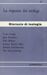 Copertina di 'La risposta dei teologi (gdt 027)'