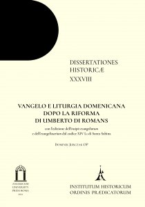 Copertina di 'Vangelo e liturgia domenicana dopo la riforma di Umberto di Romans'