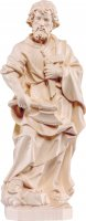 Statua di San Giuseppe artigiano in legno naturale, linea da 25 cm - Demetz Deur