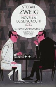 Copertina di 'Novella degli scacchi-Paura-Lettera di sconosciuta. Ediz. integrale'