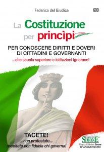 Copertina di 'La Costituzione per princìpi'