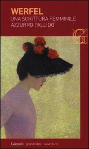 Copertina di 'Una scrittura femminile azzurro pallido'