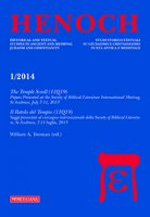 Henoch. Vol. 36. N. 1/2014