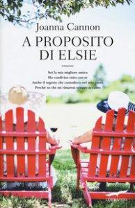 Copertina di 'A proposito di Elsie'