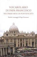 Vocabolario di papa Francesco nei primi mesi di pontificato