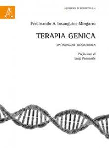 Copertina di 'Terapia genica. Un'indagine biogiuridica'