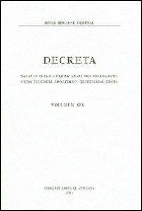Copertina di 'Decreta'