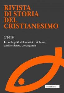 Copertina di 'RSCR. 2/2018: Ambiguità del martirio: violenza, testimonianza, propaganda. (Le)'