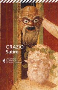 Copertina di 'Satire. Testo latino a fronte'