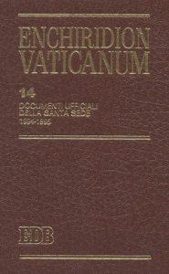 Copertina di 'Enchiridion Vaticanum. 14'