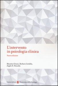 Copertina di 'L' intervento in psicologia clinica'