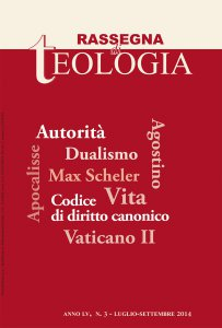 Rassegna di Teologia 2014 - n. 3