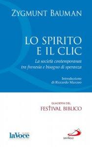Copertina di 'Lo spirito e il clic'