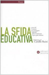 Copertina di 'La sfida educativa'