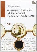 Produzione e circolazione del libro a Brescia tra Quattro e Cinquecento.