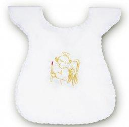 Copertina di 'Vestina bianca per Battesimo con angioletto ricamato'