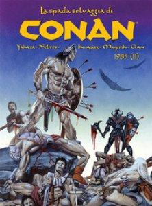 Copertina di 'La spada selvaggia di Conan (1985)'