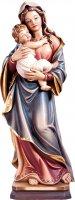 Statua della Madonna Tirolese in legno di tiglio dipinto a mano, linea da 40 cm - Demetz Deur