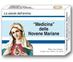 Copertina di 'Medicina delle novene mariane. Con gadget'