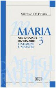 Copertina di 'Maria. Nuovissimo Dizionario. Vol. III'