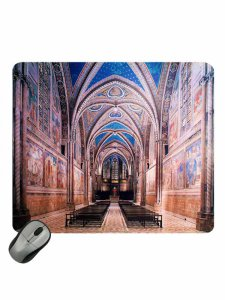 "Copertina di 'Mousepad ""Basilica Superiore Assisi""'"