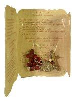 Immagine di 'Rosario profumato con immagine di Papa Francesco'