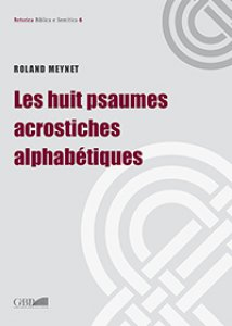 Copertina di 'Huit psaumes acrostiches alphabétiques. (Le)'