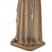 """Immagine di 'Statua sacra in legno colorato """"Sant'Antonio di Padova"""" - altezza 30 cm'"""