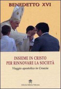Copertina di 'Insieme in Cristo per rinnovare la società'