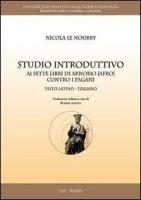 Studio introduttivo ai sette libri di Arnobio (Afro) contro i pagani - Le Nourry Nicola