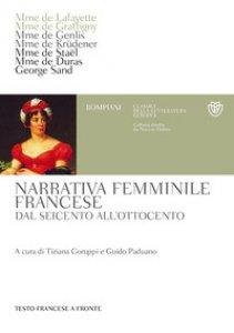 Copertina di 'Narrativa femminile francese. Dal Seicento all'Ottocento. Testo francese a fronte'
