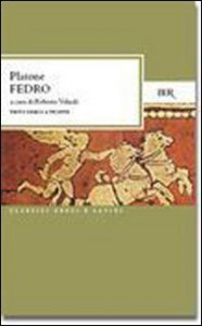 Copertina di 'Fedro. Testo greco a fronte'