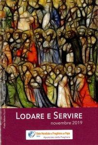 Copertina di 'Lodare e servire. Novembre 2019'