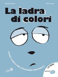 Copertina di 'La ladra di colori'
