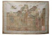 """Immagine di 'Arazzo sacro """"Fuga in Egitto"""" - dimensioni 94x132 cm'"""