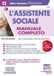 Copertina di 'L'assistente sociale - Manuale Completo'