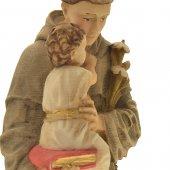 """Immagine di 'Statua in resina colorata di """"Sant'Antonio di Padova"""" - altezza 20 cm'"""