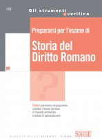 Prepararsi per l'esame di Storia del Diritto Romano - Redazioni Edizioni Simone