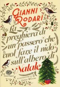 Copertina di 'La preghiera di un passero che vuol fare il nido sull'albero di Natale'