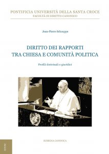 Copertina di 'Diritto dei rapporti tra Chiesa e comunità politica'