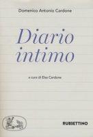 Diario intimo - Cardone Domenico Antonio
