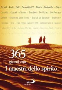 Copertina di '365 giorni con i maestri dello spirito'
