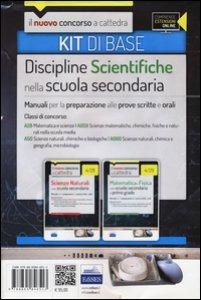Copertina di 'CC 4/28 CC 4/29 Discipline scientifiche nella scuola secondaria. Manuali... Classi di concorso: A28, A50, A059, A060. Kit di base. Con espansione online'