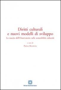 Copertina di 'Diritti culturali e nuovi modelli di sviluppo'