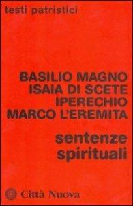 Copertina di 'Sentenze spirituali'