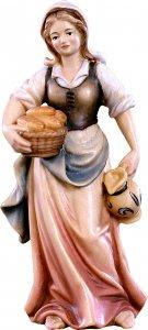 Copertina di 'Pastorella con brocca H.K. - Demetz - Deur - Statua in legno dipinta a mano. Altezza pari a 11 cm.'