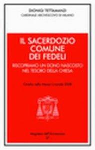 Copertina di 'Il sacerdozio comune dei fedeli'