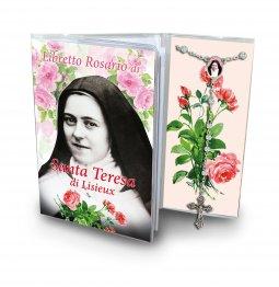 Copertina di 'Libretto con Rosario Santa Teresa di Lisieux - italiano'