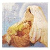 """Mini puzzle """"Madonna col Bambino"""" stile fotografico - 12 pezzi"""