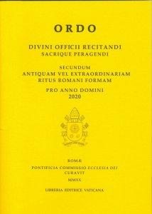 Copertina di 'Ordo Divini Officii Recitandi Sacrique Peragendi'